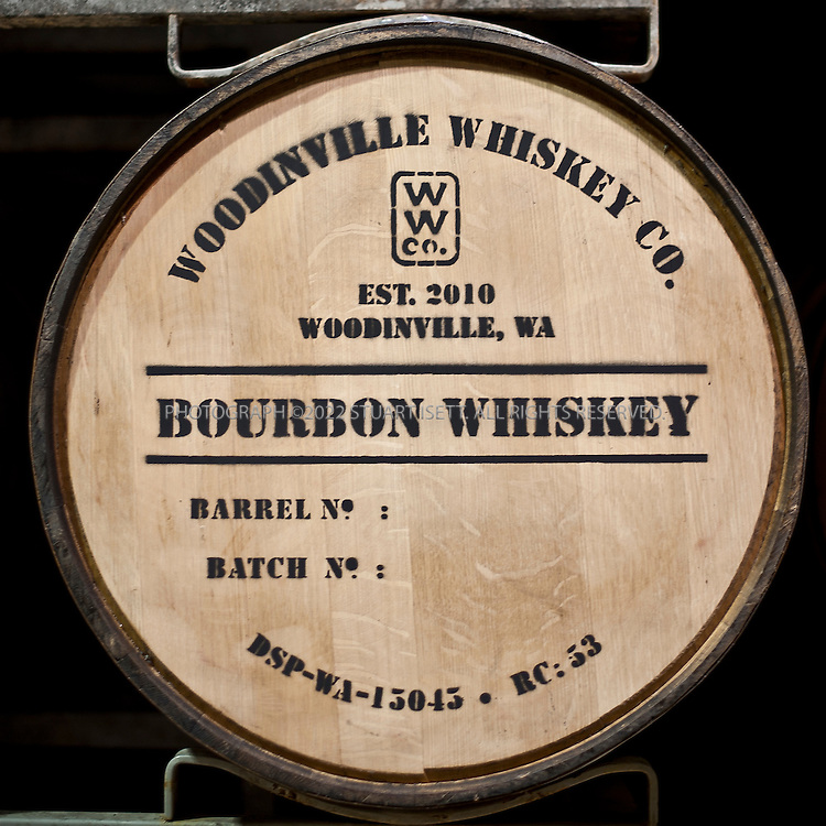 10/14/2011--Woodinville, WA, USA..The Woodinville Whiskey Company located in Woodinville, WASH., about 20 miles east of Seattle.  Owners Orlin Sorensen  and Brett Carlile offer tours and tastings of the distillery...©2011 Stuart Isett. All rights reserved.