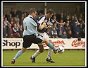28/9/02       Copyright Pic : James Stewart                     .File Name : stewart-falkirk v st j'stone 07.STUART MCCLUSKEY STAYS CLOSE TO OWEN COYLE.....James Stewart Photo Agency, 19 Carronlea Drive, Falkirk. FK2 8DN      Vat Reg No. 607 6932 25.Office : +44 (0)1324 570906     .Mobile : + 44 (0)7721 416997.Fax     :  +44 (0)1324 570906.E-mail : jim@jspa.co.uk.If you require further information then contact Jim Stewart on any of the numbers above.........