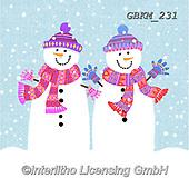 Kate, CHRISTMAS SANTA, SNOWMAN, WEIHNACHTSMÄNNER, SCHNEEMÄNNER, PAPÁ NOEL, MUÑECOS DE NIEVE, paintings+++++Christmas page 89,GBKM231,#x#