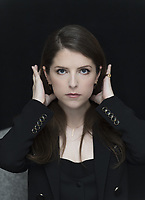 Anna Kendrick Photo Call in New York City on August 19, 2018. Credit: Magnus Sundholm/Action Press/MediaPunch ***FOR USA ONLY***