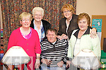 The committee of Tralee Bridge Club, pictured on Tuesday evening, from left: Nuala Murphy, Kitty Enright, Nicky Fitzgibbon, Breda Murphy and Mary Harty..