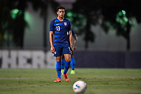 Miami, FL - Tuesday, October 15, 2019:  Hassani Dotson #13 during a friendly match between the USMNT U-23 and El Salvador at FIU Soccer Stadium.