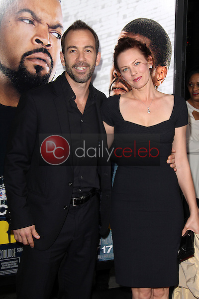 Bryan Callen and wife<br />