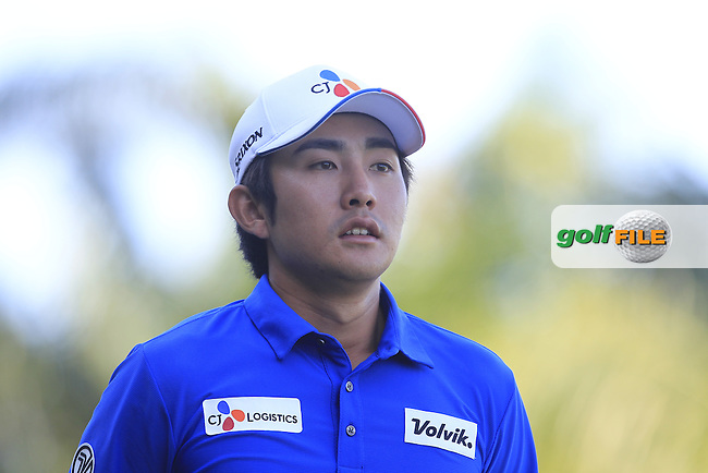 Soomin Lee (KOR) on the 5th tee during Round 4 of the Maybank Championship on Sunday 12th February 2017.<br /> Picture:  Thos Caffrey / Golffile<br /> <br /> All photo usage must carry mandatory copyright credit     (&copy; Golffile | Thos Caffrey)