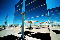 Solar Power, Solar One Power Plant, Daggett, California. California USA Daggett.