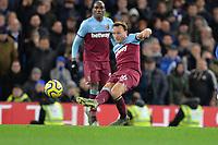 Mark Noble of West Ham United during Chelsea vs West Ham United, Premier League Football at Stamford Bridge on 30th November 2019