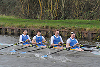 103 SES St Edwards School Oxford. Wycliffe Small Boats Head 2011. Saturday 3 December 2011. c. 2500m on the Gloucester Berkeley Canal
