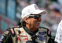 Aug. 4, 2013; Kent, WA, USA: NHRA funny car driver John Force during the Northwest Nationals at Pacific Raceways. Mandatory Credit: Mark J. Rebilas-USA TODAY Sports