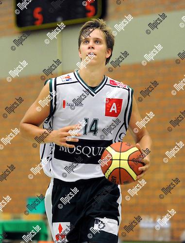 2012-08-14 / Basketbal / seizoen 2012-2013 / Gembo / Yannick Desiron..Foto: Mpics.be