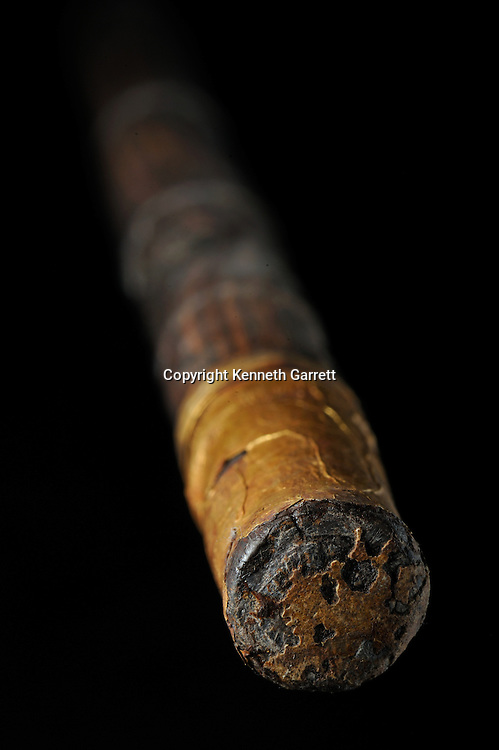 mm7864; Tutankhamun; 18th Dynasty; New Kingdom; the Egyptian Museum; Cairo; Egypt; Tut, Cane, Walking Stick, Made by King Tut, used by King Tut