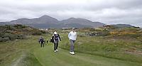 27 May 2015; Rory McIlroy walks towards the 3rd green<br /> <br /> Dubai Duty Free Irish Open Golf Championship 2015, Pro-Am. Royal County Down Golf Club, Co. Down. Picture credit: John Dickson / DICKSONDIGITAL