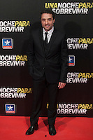 Daniel Guzman attends Run All Night `Una noche para sobrevivir´ film premiere in Madrid, Spain. March 24, 2015. (ALTERPHOTOS/Victor Blanco) /NORTEphoto.com