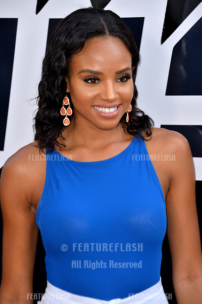 "Meagan Tandy at the Los Angeles premiere of ""BlacKkKlansman"" at the Academy's Samuel Goldwyn Theatre, Beverly Hills, USA 08 Aug. 2018<br /> Picture: Paul Smith/Featureflash/SilverHub 0208 004 5359 sales@silverhubmedia.com"
