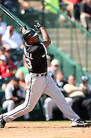 Stefan Gartrell, Chicago White Sox 2010 spring training..Photo by:  Bill Mitchell/Four Seam Images.