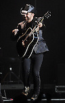 Kristian Bush of Sugarland performs before George Strait at Reliant Stadium Saturday Aug. 08, 2009.(Dave Rossman/For the Chronicle)