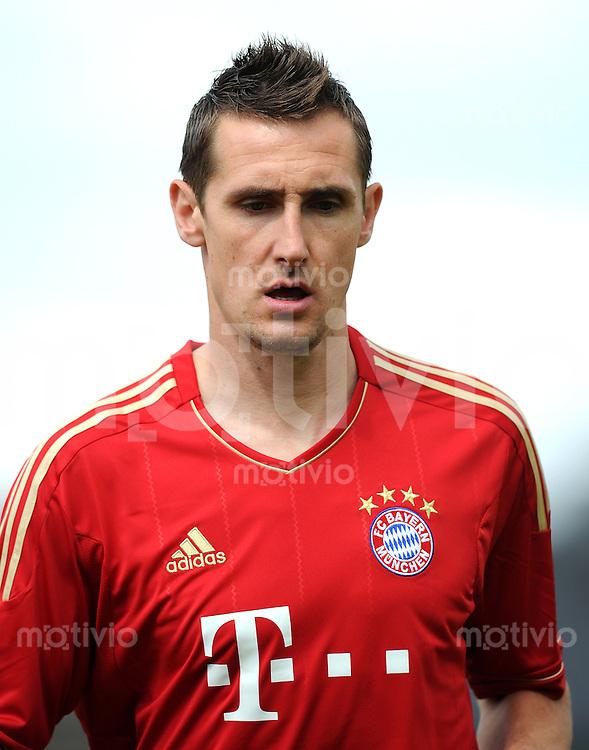 Fussball 1. Bundesliga :  Saison   2011/2012   Freundschaftsspiel  15.05.2011 FC Bayern Muenchen - Kreis Dueren Auswahl Miroslav Klose (FC Bayern Muenchen)