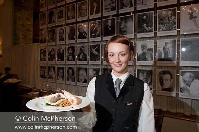 Blakes restaurant in North John Street, Liverpool, part of the Hard Days Night Beatles theme hotel.