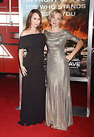 WESTWOOD, CA - OCTOBER 08: Actresses Lora Martinez-Cunningham (L) and Jenny Gabrielle arrive at the Premiere Of Columbia Pictures' 'Only The Brave' at Regency Village Theatre on October 8, 2017 in Westwood, California.<br /> CAP/ROT/TM<br /> &copy;TM/ROT/Capital Pictures