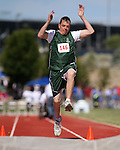 Jonah Mather, of Fallon, competes in the long jump event the Special Olympics Nevada 2013 Summer Games in Reno, Nev., on Saturday, June 1, 2013. <br /> Photo by Cathleen Allison