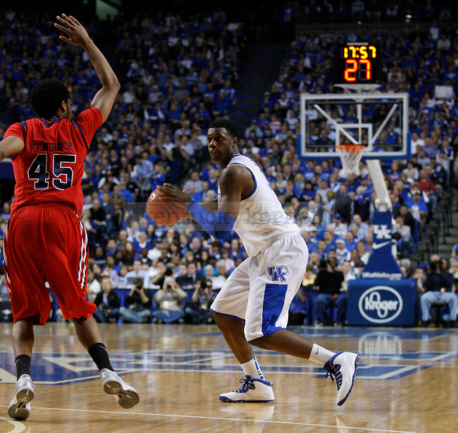Sophomore forward Terrence Jones during the second half of the game against the University of Mississippi Rebels, in  Rupp Arena, on Saturday, Feb. 18, 2012. Kentucky won 77-62. Jones scored 15 points. Photo by Latara Appleby | Staff ..