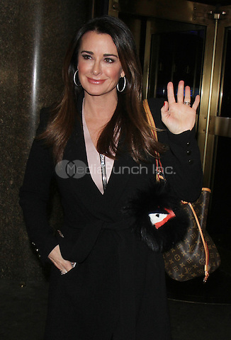 NEW YORK, NY - DECEMBER 6: Kyle Richards seen after an appearance on NY Live on December 6, 2016  in New York City. Credit: RW/MediaPunch