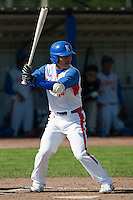 14 September 2009: Left fielder Hun-Gon Kim of South Korea is seen at bat during the 2009 Baseball World Cup Group F second round match game won 15-5 by South Korea over Great Britain, in the Dutch city of Amsterdan, Netherlands.
