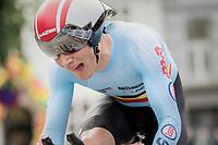 Sébastien Grignard (BEL)<br /> <br /> Men Junior Individual Time Trial<br /> <br /> UCI 2017 Road World Championships - Bergen/Norway