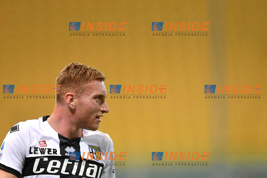 Dejan Kulusevski of Parma during the Serie A football match between Parma and FC Internazionale at stadio Ennio Tardini in Parma ( Italy ), June 28th, 2020. Play resumes behind closed doors following the outbreak of the coronavirus disease. <br /> Photo Andrea Staccioli / Insidefoto