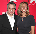 Neil Pepe & Amanda Green attending the Opening Night After Party for the Atlantic Theater Company's 'What Rhymes with America' at Moran's in New York on December 12, 2012
