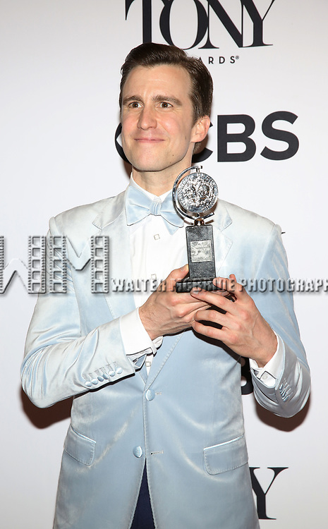 Gavin Creel poses at the 71st Annual Tony Awards, in the press room at Radio City Music Hall on June 11, 2017 in New York City.