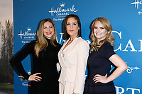 LOS ANGELES - FEB 11:  Pascale Hutton, Erin Krakow, Andrea Brooks at the 'When Calls the Heart' TV show season 7 premiere at the Beverly Wilshire Hotel on February 11, 2020 in Beverly Hills, CA
