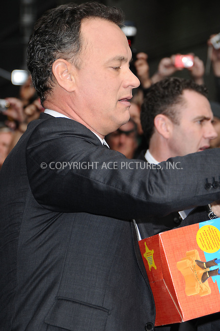 WWW.ACEPIXS.COM . . . . .  ....May 11 2009, New York City....Actor Tom Hanks made an appearance at the 'Late Show with David Letterman' at the Ed Sullivan Theatre on May 11 2009 in New York City....Please byline: AJ Sokalner - ACEPIXS.COM..... *** ***..Ace Pictures, Inc:  ..tel: (212) 243 8787..e-mail: info@acepixs.com..web: http://www.acepixs.com