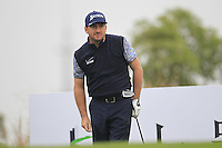 Graeme McDowell (NIR) tees off the 16th tee during Wednesday's Pro-Am Day of the 2014 BMW Masters held at Lake Malaren, Shanghai, China 29th October 2014.<br /> Picture: Eoin Clarke www.golffile.ie