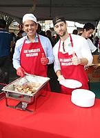 21 December 2018 - Los Angeles, California - Antonio Villaraigosa. Los Angeles Mission Christmas Meal for the Homeless held at Los Angeles Mission. Photo Credit: F. Sadou/AdMedia