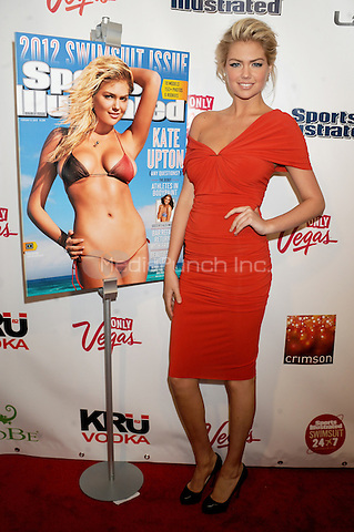 Kate Upton at the 2012 Sports Illustrated Swimsuit Issue launch party at Crimson on February 14, 2012 in New York City. © mpi01/MediaPunch Inc.