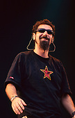 SYSTEM OF A DOWN - vocalist Serj Tankian - performing live at the Reading Festival in Reading UK - 26 Aug 2001.  Photo credit: PG Brunelli/IconicPix