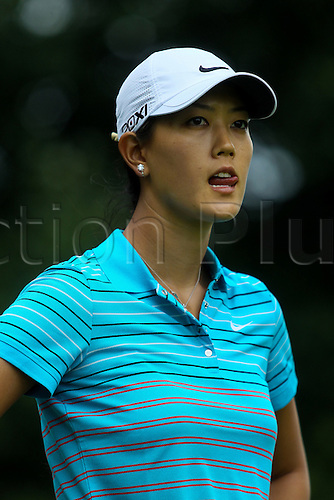 25 June 2011: Michelle Wie in action during the 2011 LPGA Championship golf tournament at Locust Hill Country Club in Pittsford, NY... .