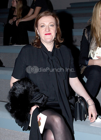 Glenda Bailey backstage at Max Azria during New York Fall 2011 Mercedes-Benz Fashion Week at The Stage at Lincoln Center Plaza in New York City. February 13, 2011. © Michelle Gray / MediaPunch Inc.