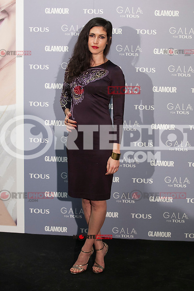 Nerea Barros poses for the photographers during TOUS presentation in Madrid, Spain. January 21, 2015. (ALTERPHOTOS/Victor Blanco) /NortePhoto<br /> NortePhoto.com