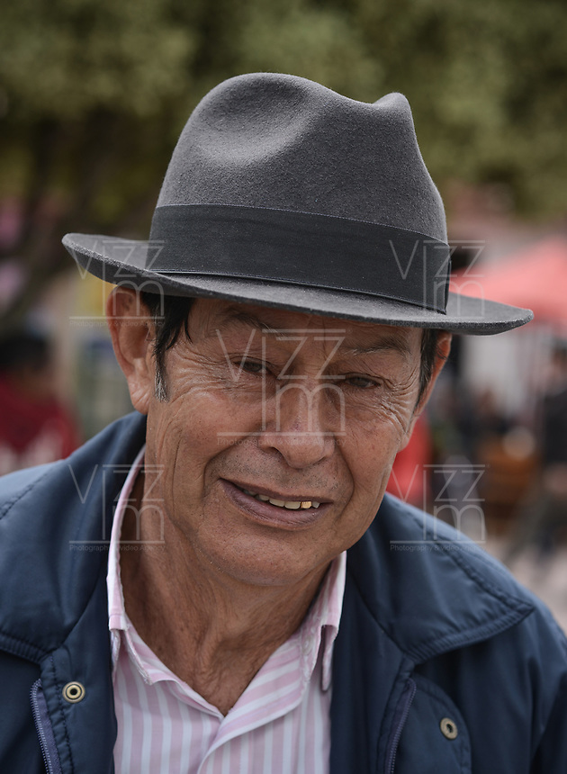 BOGOTA - COLOMBIA, 21-09-2018. Aspectos de la poblacion de Chia y sus habitantes. / Aspects of the Chia Village and its people. Photo: VizzorImage / Gabriel Aponte / Staff