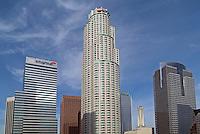 Downtown Los Angeles, Skyscrapers, Citigroup, U.S. Bank, Urban Landscape,  Buildings
