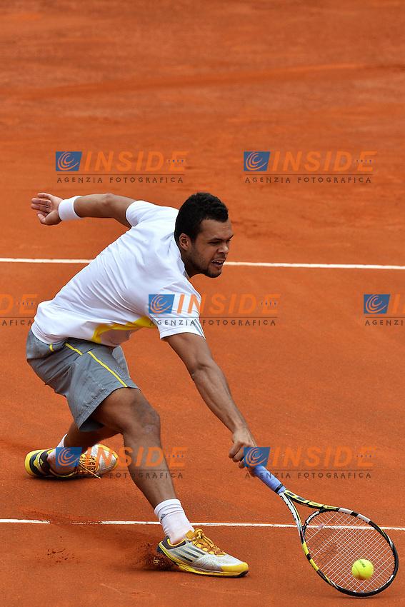 Jo-Wilfried Tsonga France .Roma 15/05/2013 Foro Italico .Tennis Internazionali d'Italia 2013 .Foto Andrea Staccioli Insidefoto
