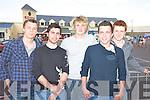 Costal Rocks:  Liam Collery, Niall Dalton, Ruairi O Donnell, Frank O' Grady and Cian Moloney