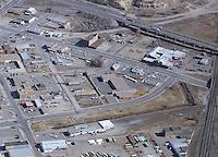 Aerial of Santa Fe Ave. Pueblo, March 1984.