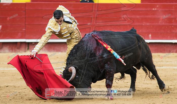 Feria de Fallas 2017.<br /> Corrida de Toros.<br /> David Mora - Paco Ure&ntilde;a - Javier Jimenez.<br /> Toros de Jandilla y Vegahermosa.<br /> Valencia, Valencia (Spain).<br /> 15 de marzo de 2017.