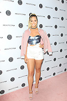 LOS ANGELES - AUG 12: Alisha Marie at the 5th Annual BeautyCon Festival Los Angeles at the Convention Center on August 12, 2017 in Los Angeles, California