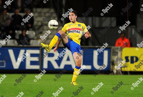 2012-09-15 / Voetbal / seizoen 2012-2013 / KVC Westerlo / Arnaud De Greef..Foto: Mpics.be