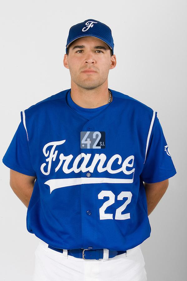 15 Aug 2007: Vincent Ferreira - Team France Baseball