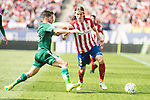 Atletico de Madrid's Filipe Luis and Real Betis's A. Cejudo during BBVA La Liga match. April 02,2016. (ALTERPHOTOS/Borja B.Hojas)