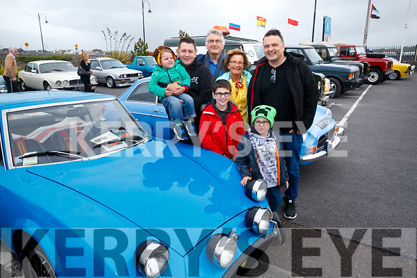 James, Richard, Richard Snr, Richard, Angela, Michael and Norman Fitzgerald, Tralee  pictured at the Blennerville Treshing Festival on Sunday.